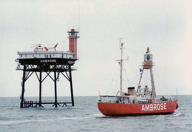 Lightship Ambrose Lv 87 Wal 512 Lighthouse New York At