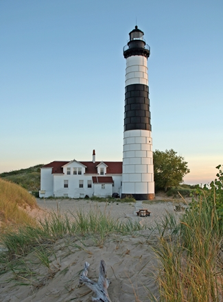 Big Sable Point Lighthouse, Michigan at Lighthousefriends.com