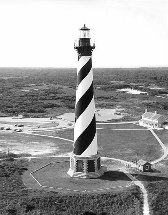 Cape Hatteras Lighthouse, North Carolina at ...