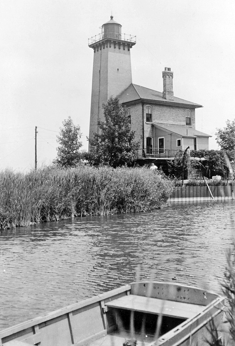 Made In Michigan >> Saginaw River Rear Range Lighthouse, Michigan at ...