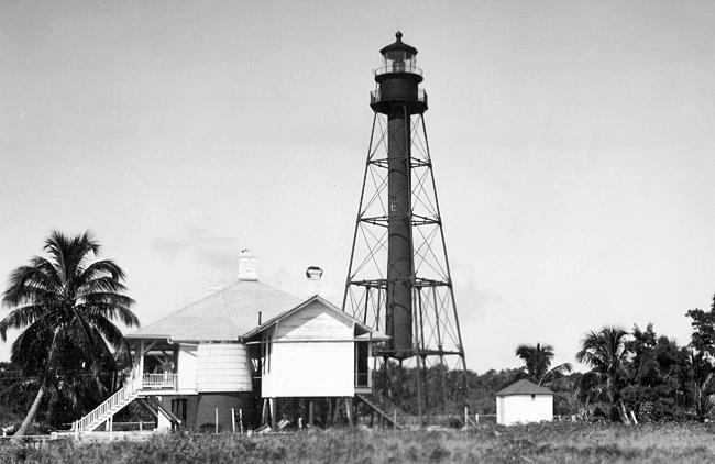 Lighthouse On Sanibel Island Fl