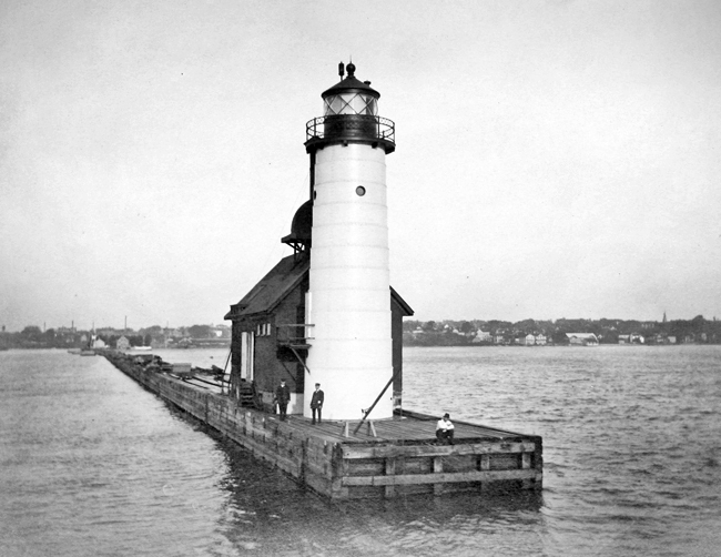Sheboygan Breakwater Lighthouse, Wisconsin at