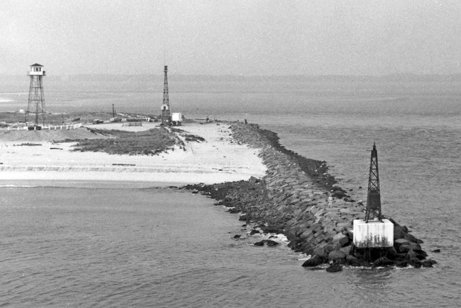 The Great Hurricane Of 1938 Destroyed The Metal Tower But The Old Brick Lighthouse Stood Resolute