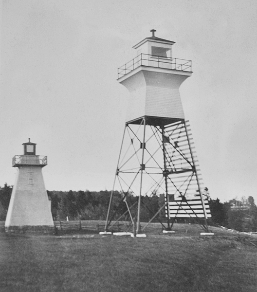 Lighthouses Of Canada Southern Quebec - Discontinued lighthouse border
