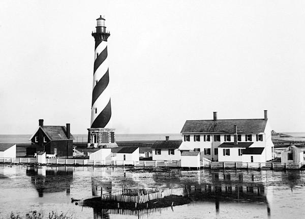 Cape Hatteras Lighthouse In 1893 Photograph Courtesy U S Coast Guard
