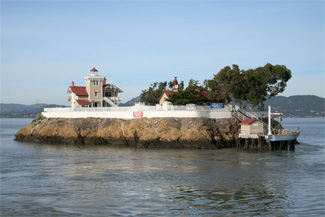 East Brother Lighthouse California At Lighthousefriends Com