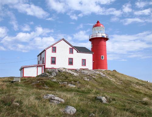 Ferryland Head Lighthouse, Newfoundland Canada at ...