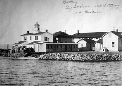 Fishing Battery Lighthouse, Maryland at Lighthousefriends com