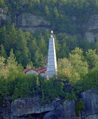 Flowerpot Island Lighthouse Ontario Canada At