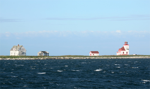 Flowers Cove Lighthouse, Newfoundland Canada at ...