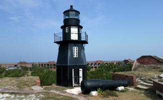 Garden Key (Fort Jefferson) Lighthouse, Florida at