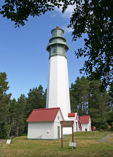 Grays Harbor (Westport) Lighthouse, Washington at Lighthousefriends com