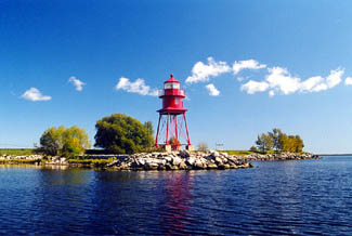 Made In Michigan >> Alpena Lighthouse, Michigan at Lighthousefriends.com