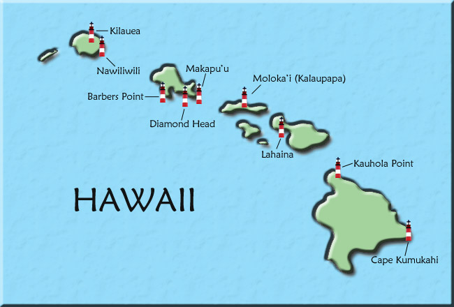 Hawaii Map - Us and hawaii map