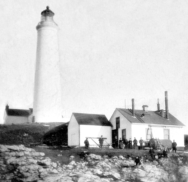Point Amour Lighthouse Newfoundland Canada At