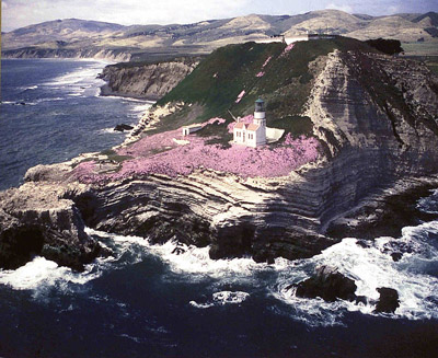 Point Conception Lighthouse, California at Lighthousefriends.