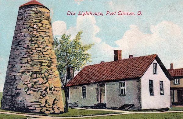 port clinton lighthouse  ohio at lighthousefriends com