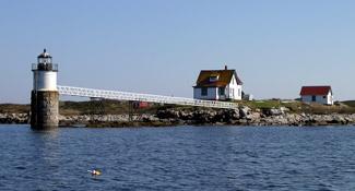 Ram Island Lighthouse Maine At Lighthousefriends Com