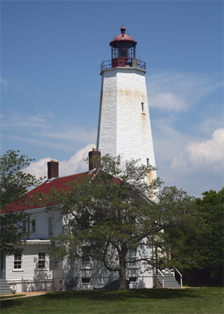 Sandy Hook Lighthouse, New Jersey at Lighthousefriends.com