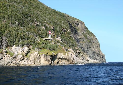 South Head Lighthouse, Newfoundland Canada at