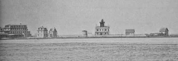 Tucker's Beach (Replica) Lighthouse, New Jersey at Lighthousefriends.com