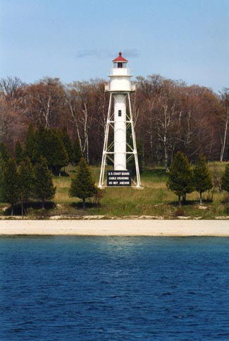 Plum Island Rear Range Lighthouse Wisconsin At