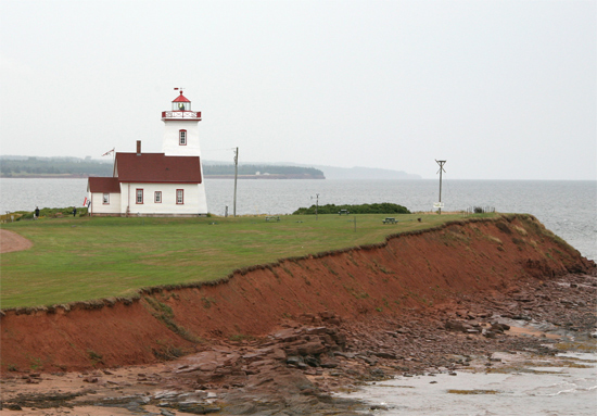 Wood Islands Lighthouse Prince Edward Island Canada at Lighthousefriends